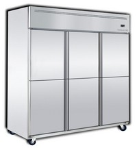 Dual Upright Freezer / Chillers